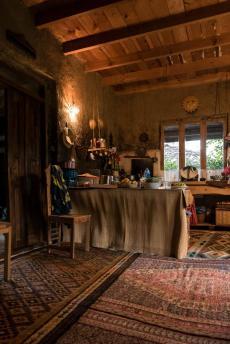 Die Küche im Guesthouse