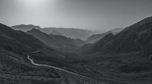 Fahrt nach Uraman Takht