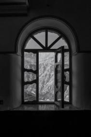 Blick aus dem Moscheefenster