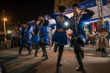 Armenische Tänzer