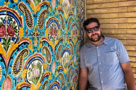 Im Golestan Palace