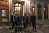 unterwegs mit Franzi, Lukas, Peer und ihrem CS Gastgeber